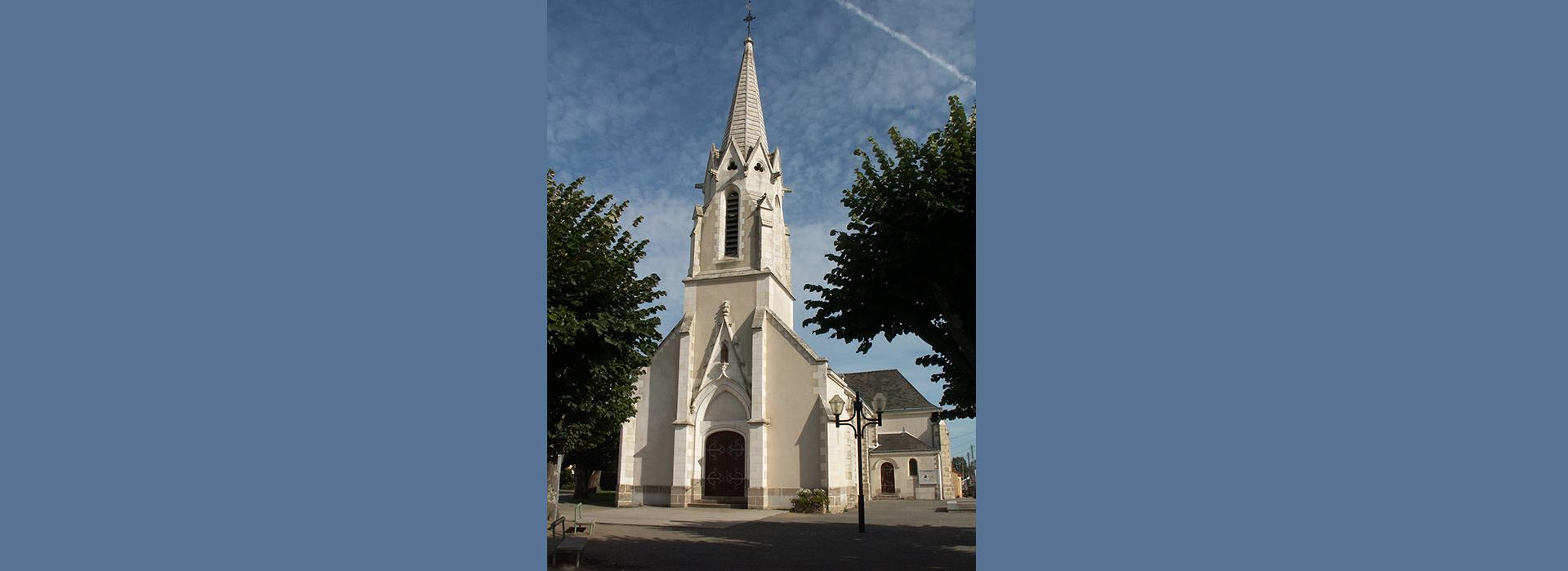 Paroisse Machecoul église Fresnay en Retz - Villeneuve en REtz
