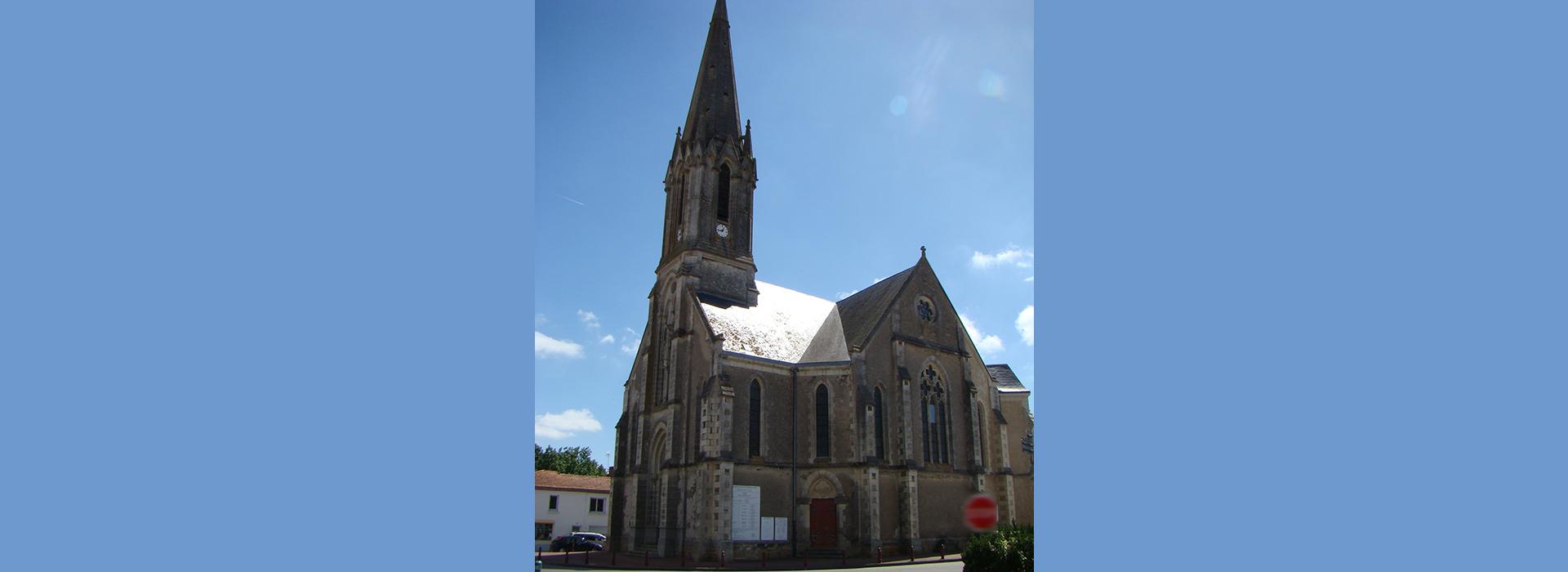 Paroisse Machecoul Eglise de St Même Le Tenu