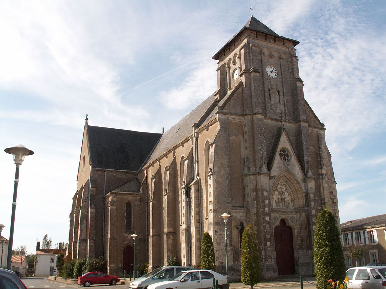 Eglise Paulx 44270 Sainte Croix en Retz