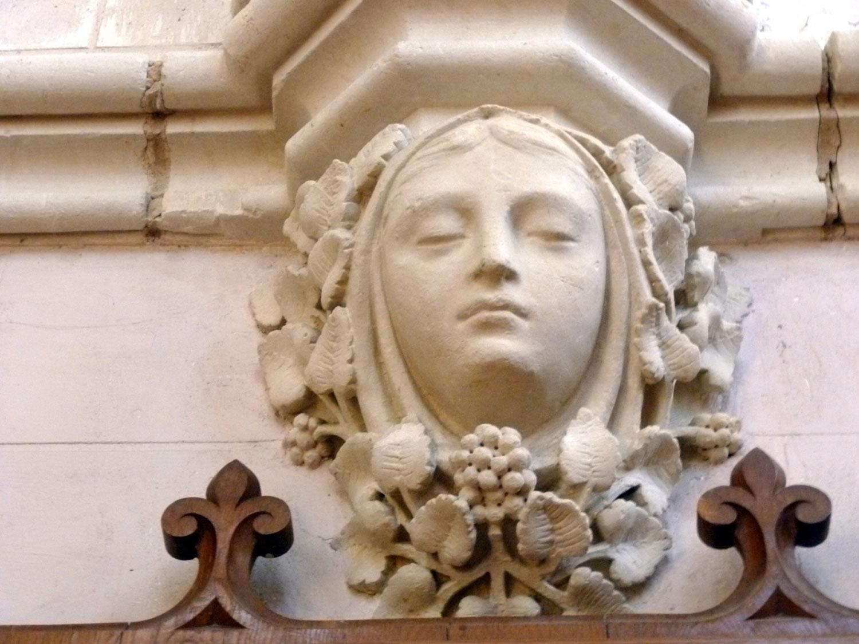 St Etienne de Mer Morte figurine
