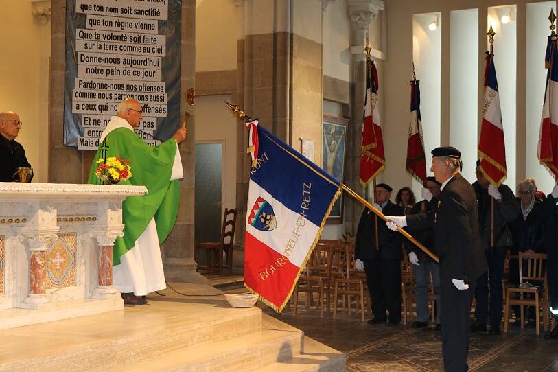 Bénédiction drapeau Bourgneuf-en-Retz 11 novembre 2018