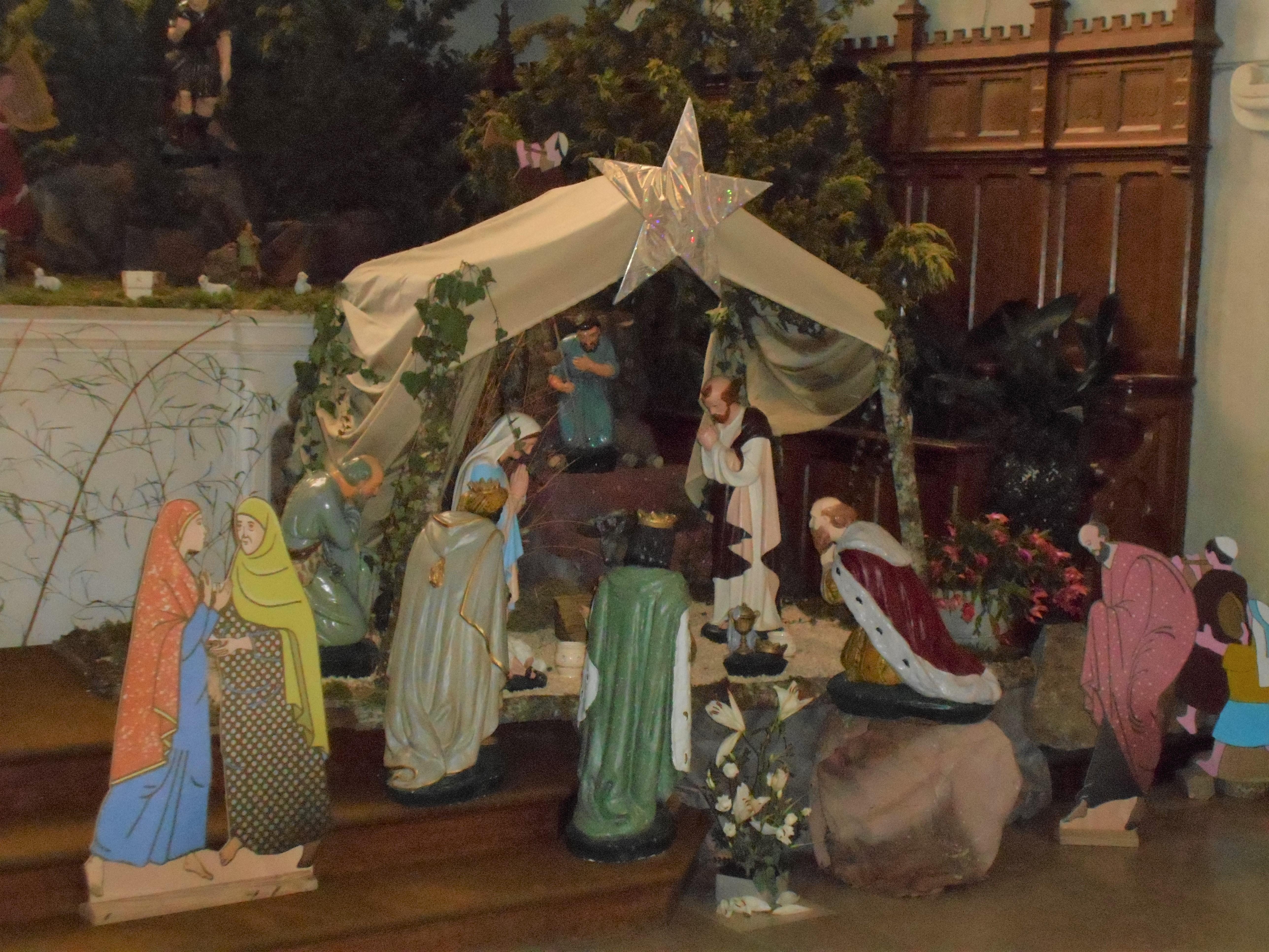 Crèche église de Paulx Noël 2018