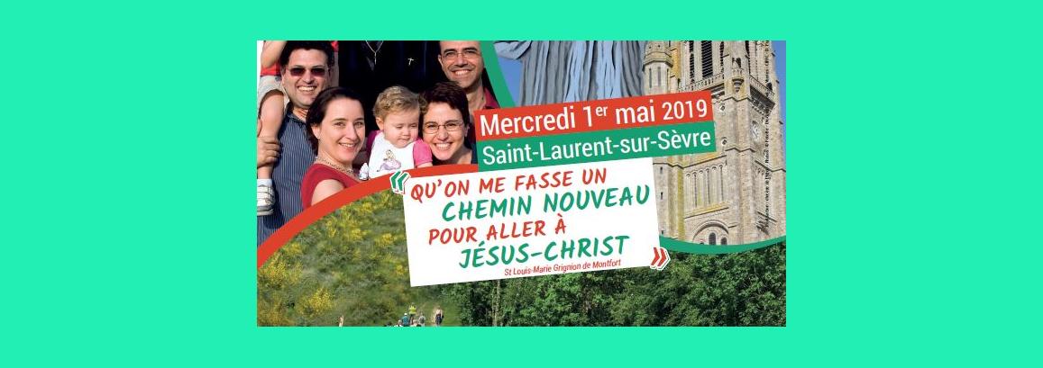 Pèlerinage régional à St Laurent sur Sèvre le 1er mai 2019