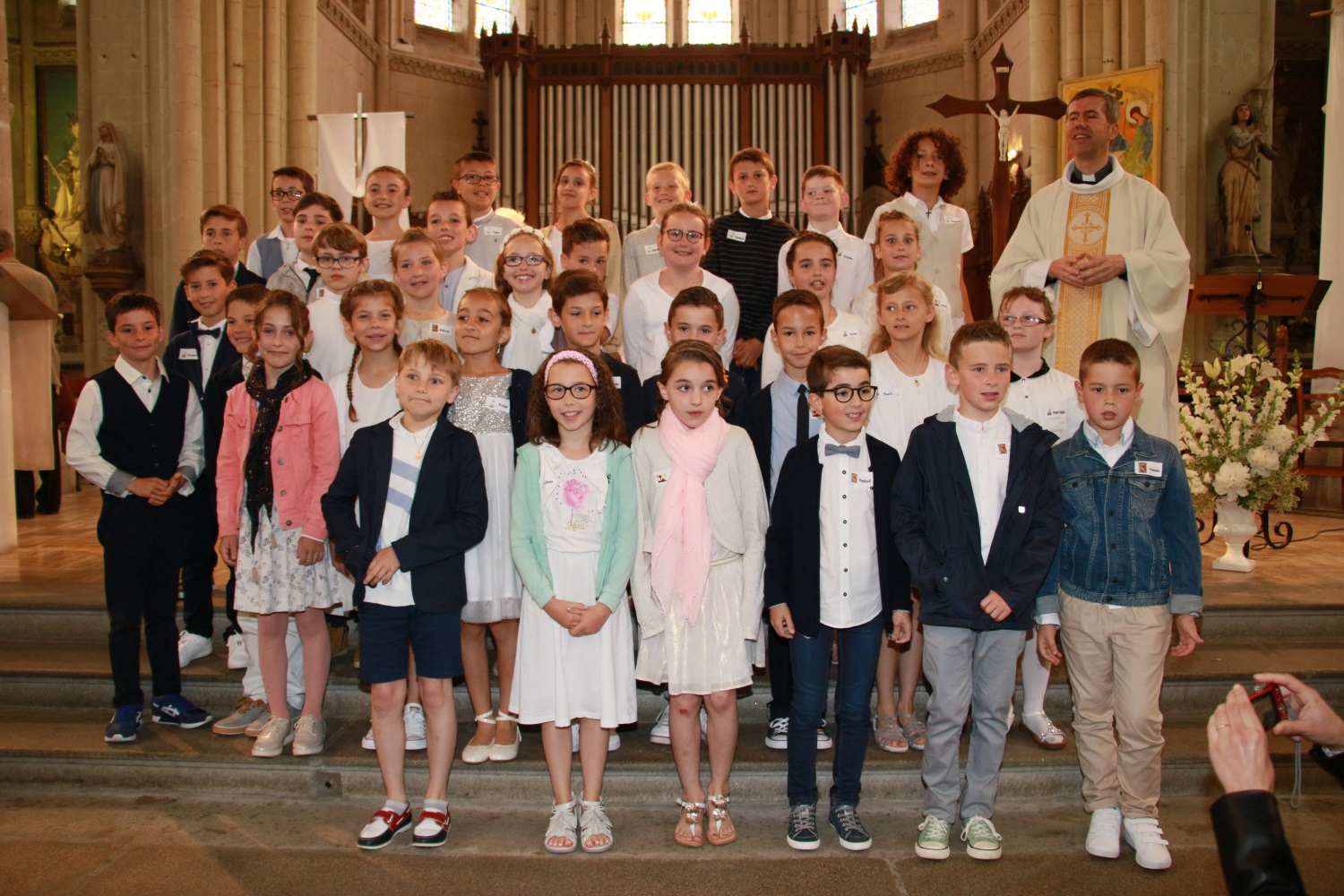 1ère communion à Machecoul 26.05.2019
