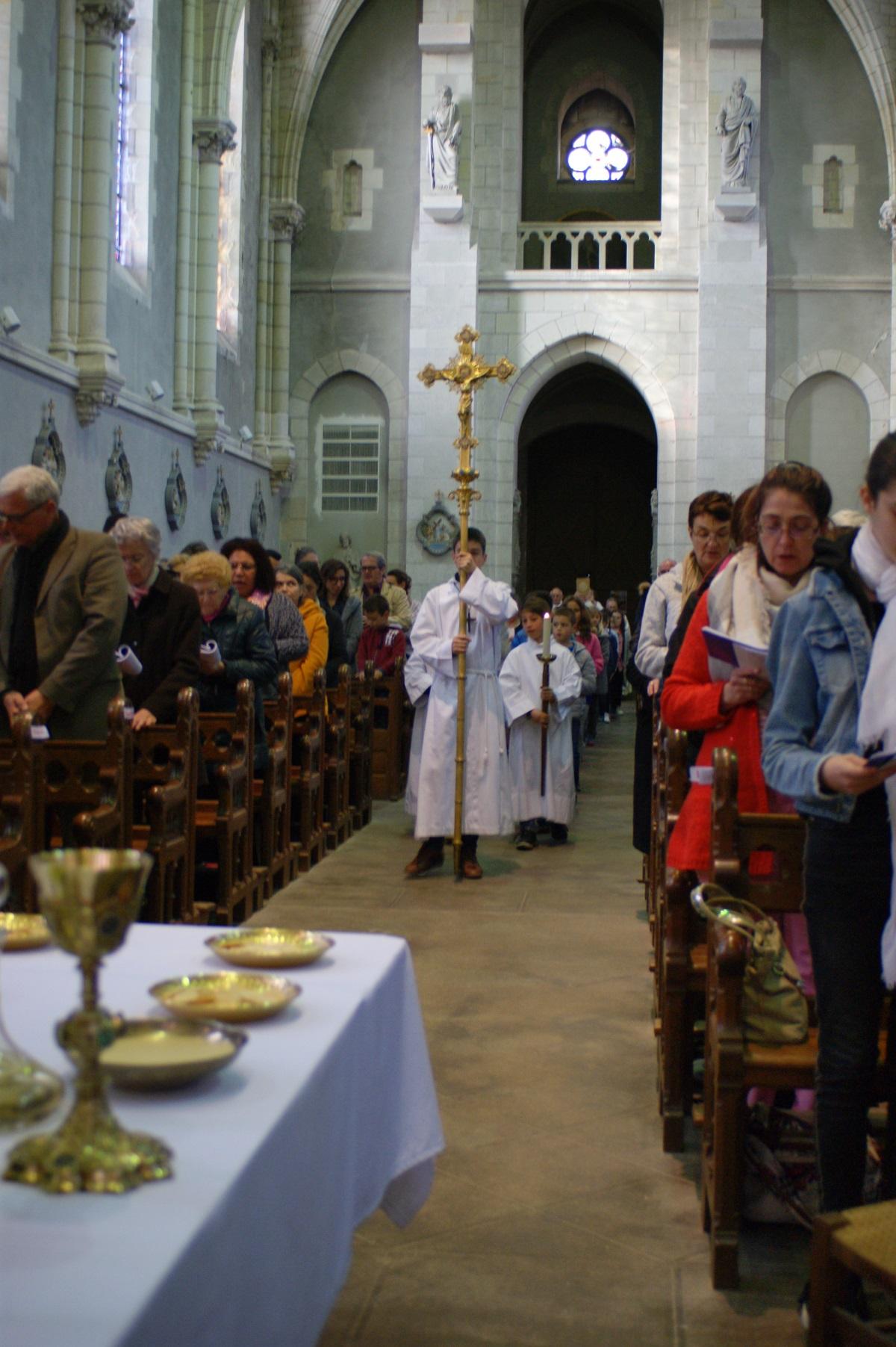 Jeudi Saint à Paulx