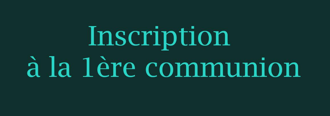 panneau-inscription 1ère communion