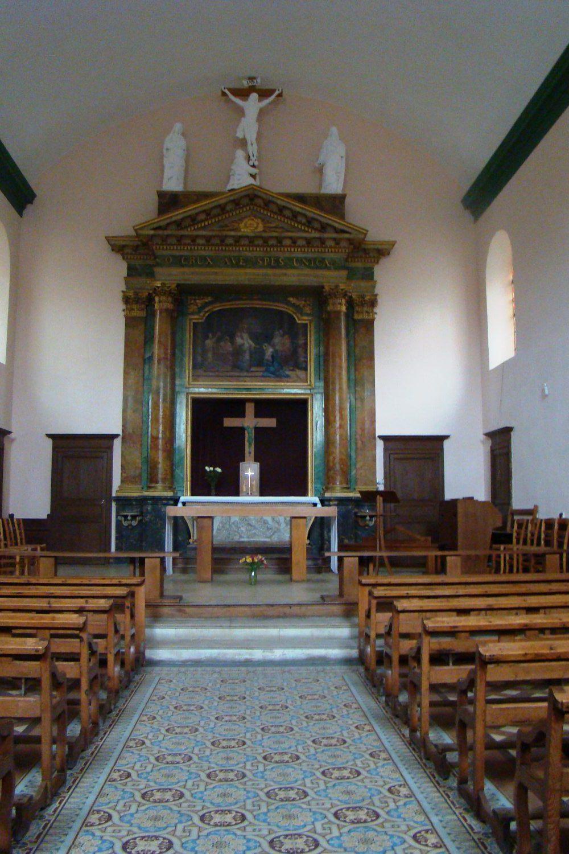 Intérieur Chapelle du Calvaire Machecoul
