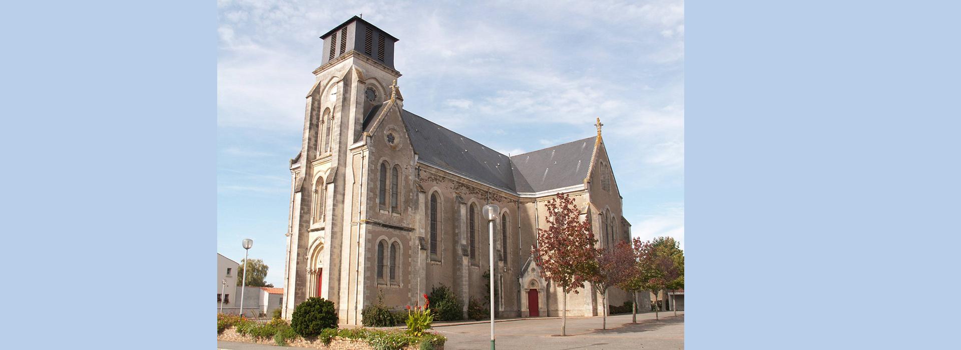 Paroisse Machecoul église La Marne 44 Nantes sud loire