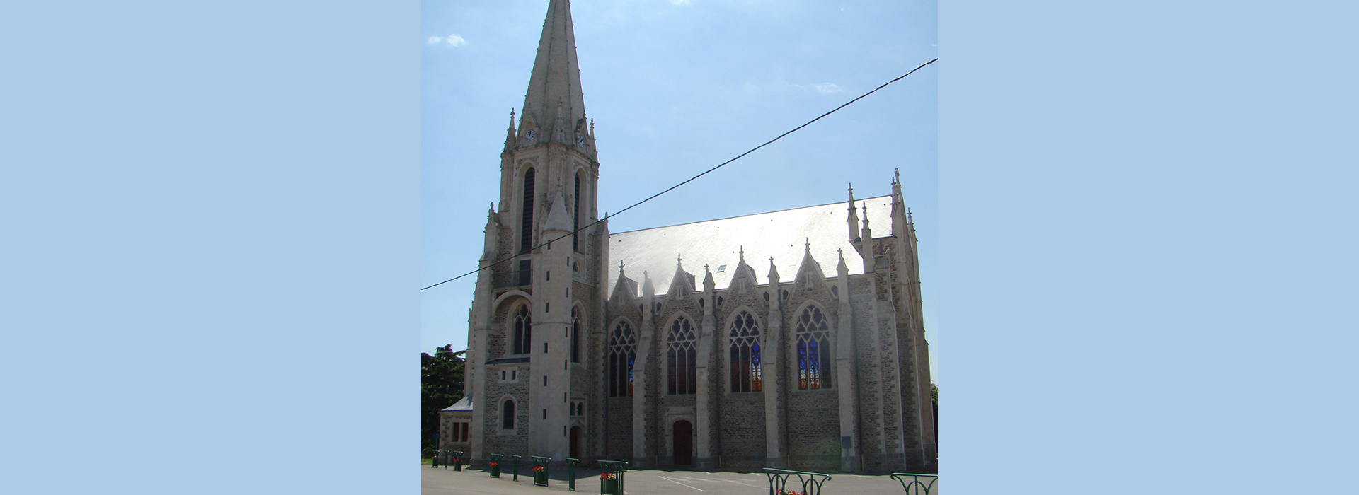 église Saint Cyr en Retz Paroisse Machecoul 44