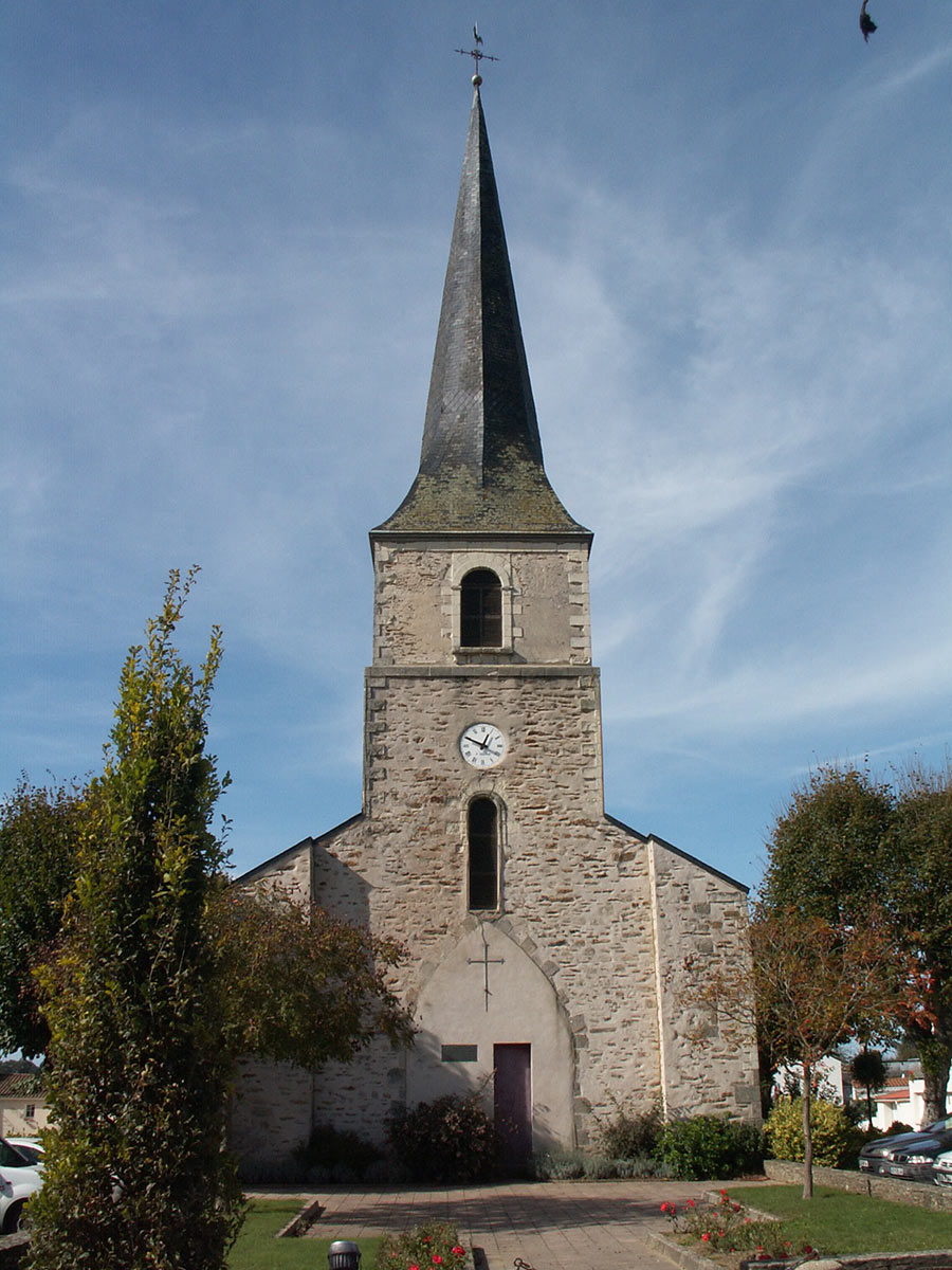 Clocher Saint Etienne de Mer Morte 44270