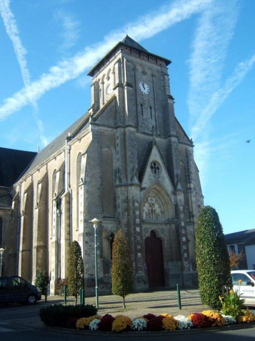 Eglise de Paulx Ste croix en retz
