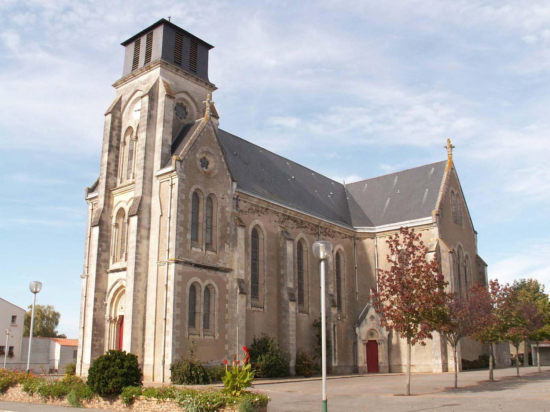 Eglise La Marne 44270 Ste croix en retz