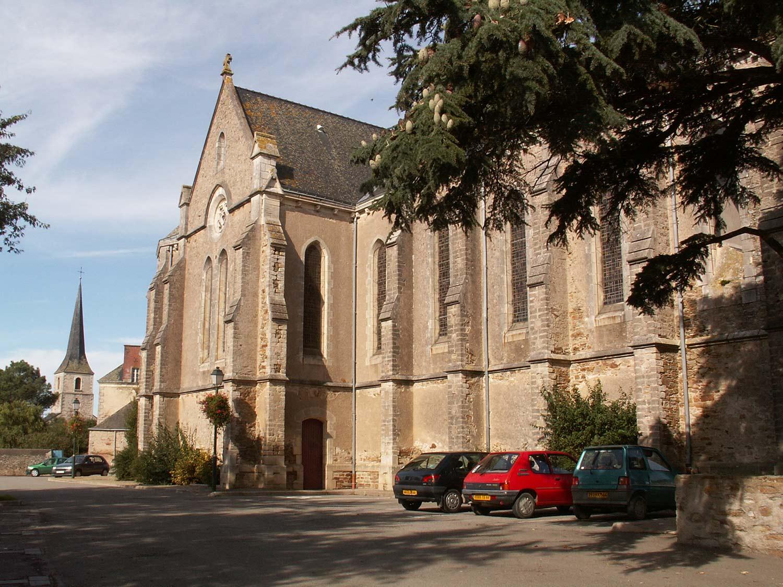 Eglise Saint Etienne de Mer Morte 44270