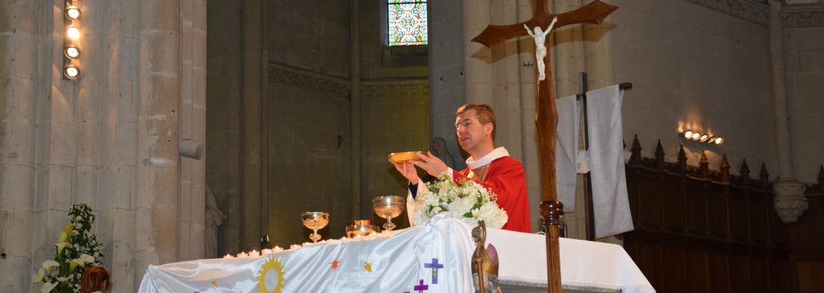 1ere communion Ste Croix en Retz