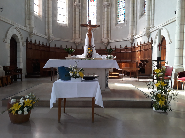 Eglise de Paulx - Pâques 2021